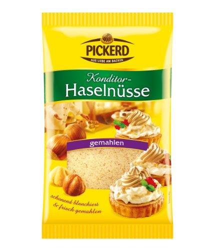 Pickerd Haselnüsse gemahlen, 4er Pack (4 x 100 g)