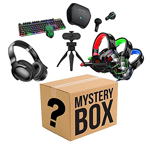 HBING Lucky Box-(Random Product) Makes A Nice Gifts! Anything Possible! Chances to Get: Game Equipment, Toys, Smart Products Etc, They are All, Gaming peripherals