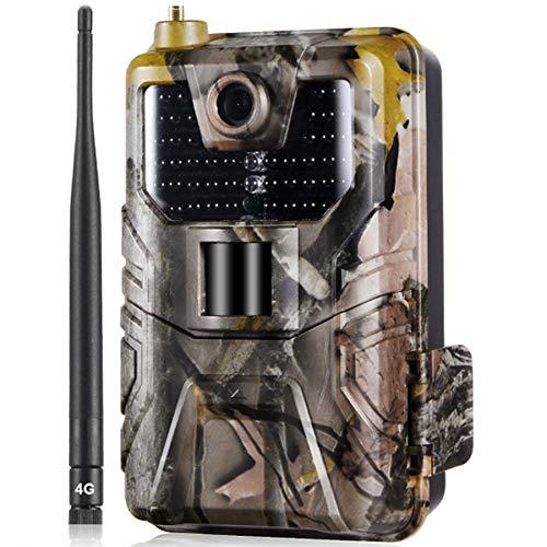 DPGPLP 4G Fotocamera Caccia Fototrappola 16MP 1080P...