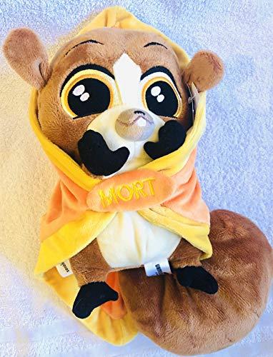M Madagaskar King Julien – Baby Maus Lemur Mort Plüschtier in Decke/Schmusetuch Babys