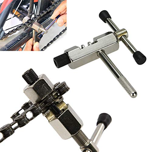 Yissma Fietskettinggereedschap, kettinggereedschap, nietgereedschap voor fiets, ketting, breaker, verwijderbaar gereedschap voor chain bike, klinknagels, extractor spliter