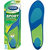 Dr. Scholl's Sport Insoles Superior Shock Absorption and Arch Support to Reduce Muscle Fatigue and...