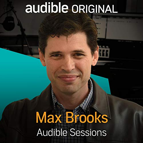 Max Brooks audiobook cover art