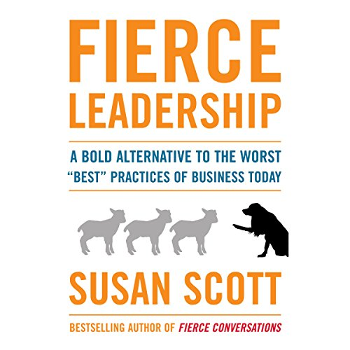 Fierce Leadership audiobook cover art