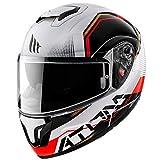 Mt Helmets Atom SV Quark B5 Gloss Pearl Red L
