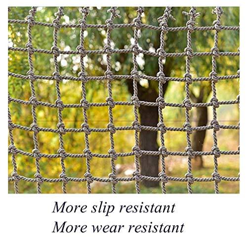 Xink-fhw Outdoor Kletternetz Kinder Kletterschutz Sicherheitsnetz Spielplatz Isolation Netzwerk Foto Wand Dekoration Netz – großes Gitter (2 x 3 m)