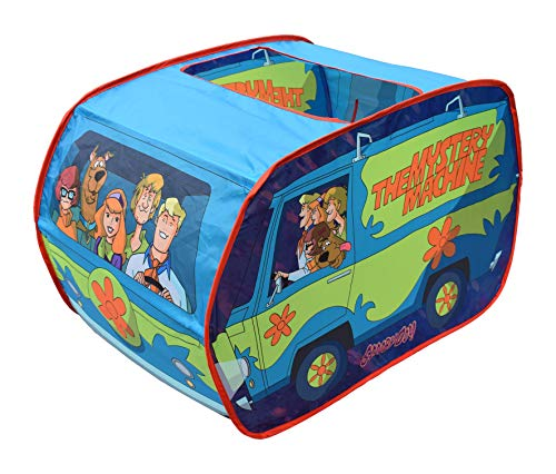 Sunny Days Entertainment Scooby Doo Mystery Machine Tent – Kids Pop Up Play Tent | Scooby Doo Toy