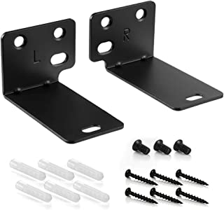 Black Mounting Wall Bracket for Bose WB-300 Sound Touch 300 Soundbar Soundbar 500 Soundbar 700 Speaker with Screws