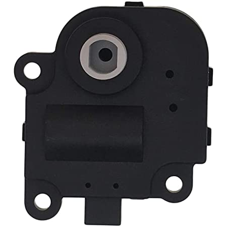 cciyu 604-109 Air Door Actuator HVAC Blend Door Actuator fit for 2003-2012 Chevrolet 2003-2010 Pontiac 2003-2009 Saturn Replacement 52494371,15842338,1573513,15-73513