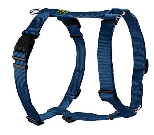 HUNTER Arnés Vario Rapid Harness, Tamaño Cuello 30-46 cm x Estómago 38-52 cm, Azul