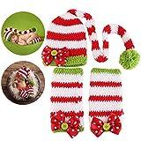 NUOLUX Weihnachten Baby Neugeborene handgemachte Kleidung Baby Fotografie Requisiten
