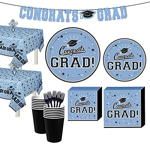 Party City Powder Blue Congrats Gra…