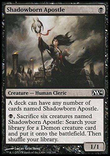Magic The Gathering - Shadowborn Apostle - Magic 2014