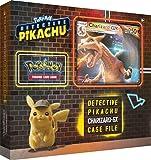 Une mystérieuse coque de Ryme City avec Charizard-GX ! Célébrez le film Pokémon Detective Pikachu avec une carte promo en aluminium et une carte surdimensionnée avec Charizard-GX. Déchirez 4 boosters spéciaux Pokémon : boosters détecteurs Pikachu, pl...