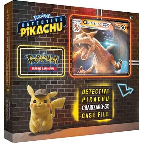 Pokémon POK80535 TCG: cartella Detective Pikachu Charizard-GX