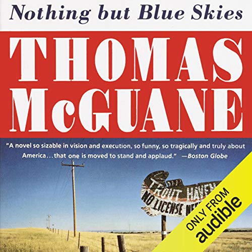 Nothing but Blue Skies audiobook cover art