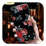 人気モデルかわいい3D花電話ケースiphone X 8 7 6 6 sプラス11プロマックスケースカバーiphone 5 5 s SE 6 s XR XSマックス7プラスケースCoque-01-For iPhone XS Max