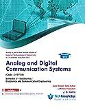Analog and digital communication systems For GTU B.E. Electronics,ECE Engineering Sem 5