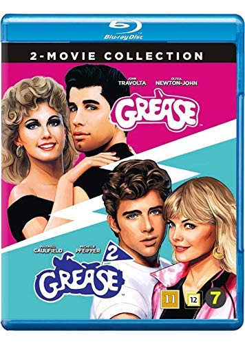 Grease / Grease 2 ( ) [ Dänische Import ] (Blu-Ray)