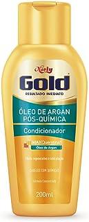 Gold Condicionador Óleo de Argan Pós Química, 200 ml, Niely
