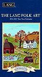 Mary Singleton 1071073 Lang Folk Art Kalender 2016 für 2 Jahre, Januar 2016 bis Dezember 2017, 8,9 x 17 cm