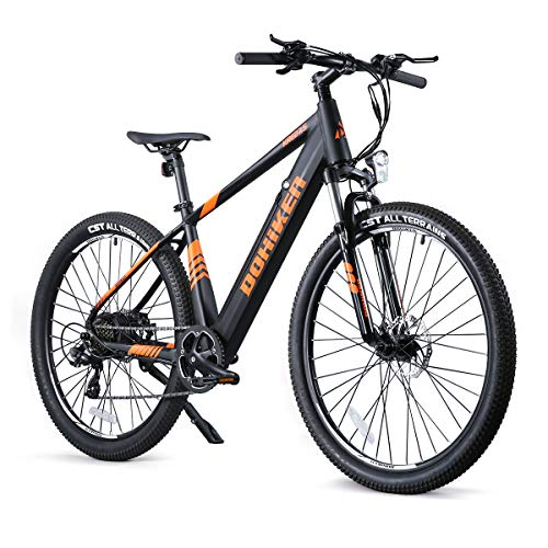 Fafrees Bicicleta de de Asistencia Eléctrica de 27.5 Pulgadas, Bicicleta de Montaña para Adultos con Motor de 250W/36V/10AH/IP54 (Entrega Completa del Bicicleta, no Requiere instalación)
