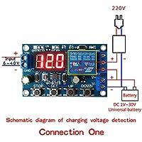 バッテリー充電器モジュール放電器ボード低電圧過電圧保護ボード精密自動オフモジュール放電器