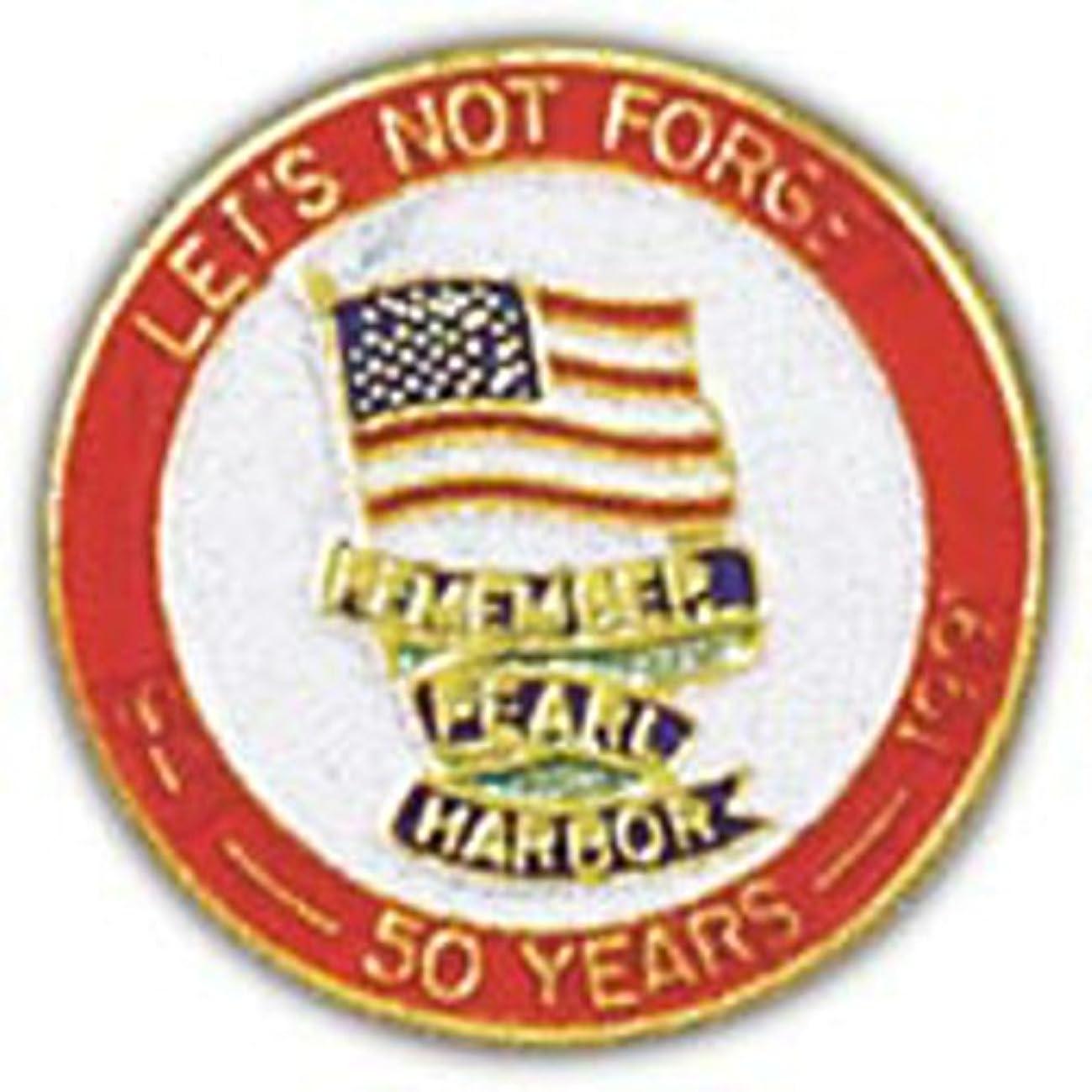 EagleEmblems P15452 Pin-WWII,Pearl Harbor,Air (1'')