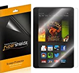 (3 Pack) Supershieldz for Fire HDX 8.9 and Kindle Fire HDX 8.9 inch Screen Protector, High Definition Clear Shield (PET)
