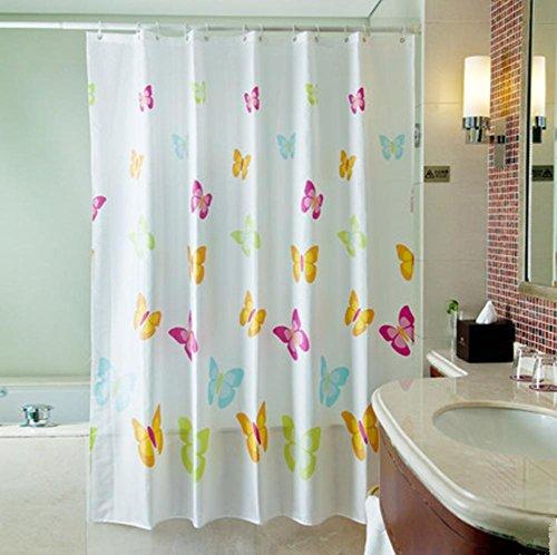 Print douchegordijn badkamer waterdicht polyester stof 120x180cm (47.24x70.86-inch)