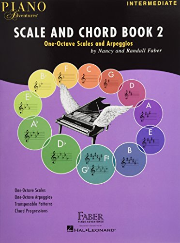 Piano Adventures: Scale And Chord Book 2: One-Octave Scales and Chords
