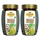Pure sugarcane fancy molasses, unsulphured and natural Quick dissolving & perfect ingredient to sweet recipes Gives cookies uniform baking & crisp texture. Tasty to just drizzle over cereals or waffles or butter toast It has numerous health benefits ...