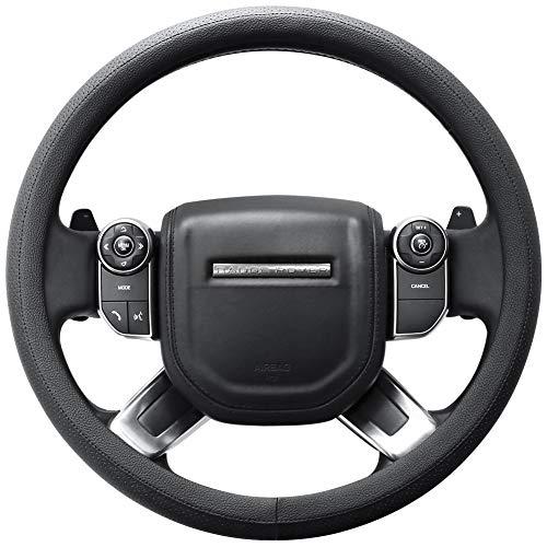 SEG Direct Car Steering Wheel Cover for F-150 Tundra Range Rover 15 1/2' - 16',...