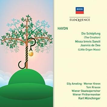 Haydn: Die Schöpfung; Messa brevis Sancti; Joannis de Deo