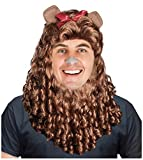 Lion Wig Lion Costume Mane Adult Cowardly Lion Costume Cowardly Lion Wig Costume