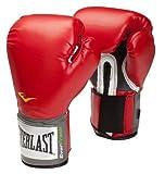 Everlast Pro Style, Guantoni da boxe, Rosso (rot), 14 once