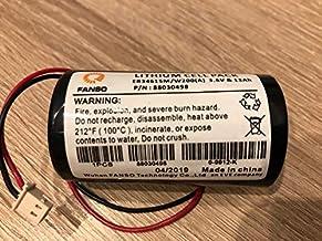 Visonic MCS-710 en 730 ER34615M 0-9912-K sirene-accu