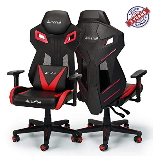 AutoFull Gaming Chair - Video Game Chairs Mesh Ergonomic High Back Racing Style Computer Chair for...