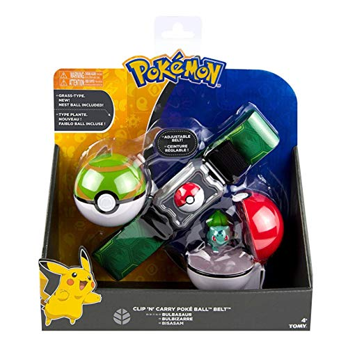 DEALBUHK 5pcs/set of Pokemon Toy with Backpack Ball Movik Little Fire Dragon Wonderful Frog Pokemon Seed Doll best gift (Color : B)