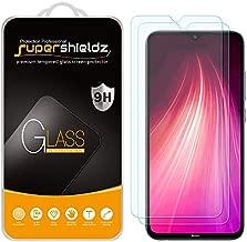 (2 Pack) Supershieldz Designed for Xiaomi Redmi Note 8 Tempered Glass Screen Protector, Anti Scratch, Bubble Free