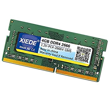 Old House DDR4 2666MHz 2667MHz 4GB PC4 Memory RAM Module for Laptop 288 pins