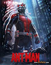 ANT-MAN [3D Blu-ray + 2D Blu-ray BLUFANS Steelbook LENTICULAR Edition; Region-Free; Sold Out]
