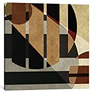 "iCanvasART 1 Piece Modern Art- Geometric Shapes Canvas Print by Icanvas, 12 by 12""/0.75"" Deep"