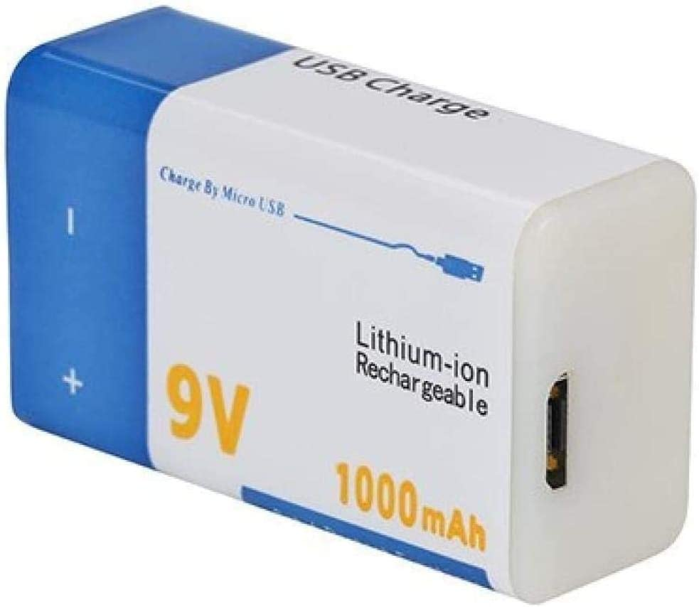 9v 1000mah Li-Ion Lowest price challenge Rechargeable Battery Lithi free shipping USB Batteries Micro