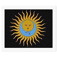 KING CRIMSON LARKS TONGUES キング・クリムゾン 太陽と戦慄 - 副本 - 副本 DIY デジタル絵画オイルハンギング絵画手作りホームウォールアート現代アートワークホームオフィス