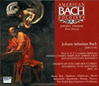 St Matthew's Passion by J.S. Bach
