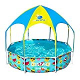 Bestway Splash In Shade - Piscina con Techo, 244 x 51 cm