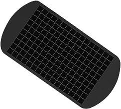 Forma de Gelo de Silicone 160 Cubos Pequenos Cor Preto