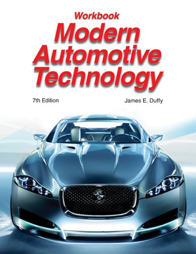 Modern Automotive Technology, Workbook