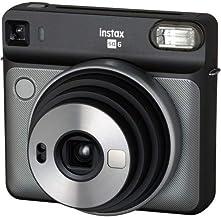 كاميرا فوجي فيلم Instax SQUARE SQ6 الفورية (غرافيت رمادي)